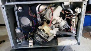F&P dishwasher under the hood